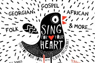 Sing for your heart, sing for your soul