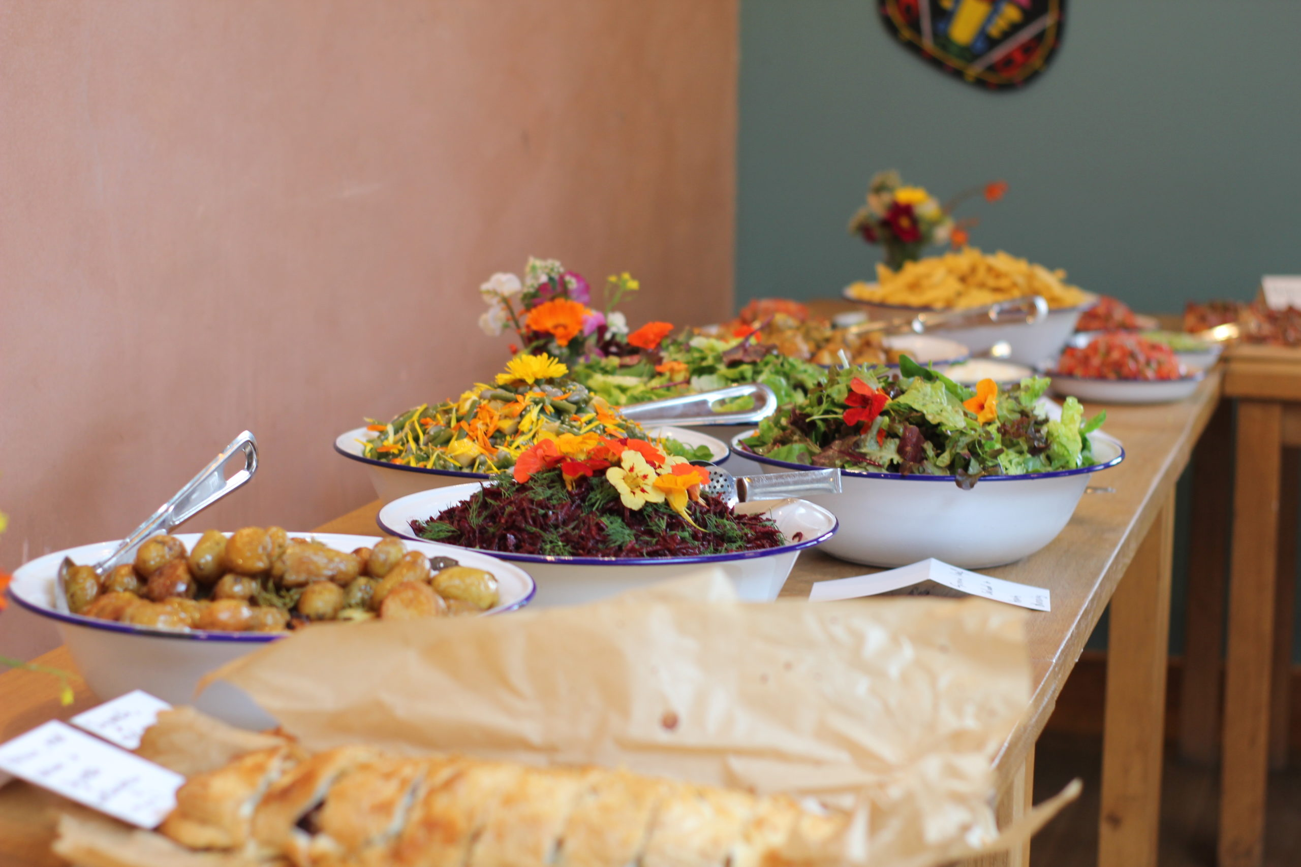 Vegetarian and Vegan Wedding Venue