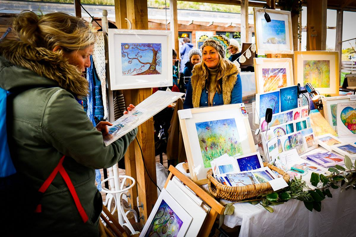 Roots Culture Christmas Market Cornwall