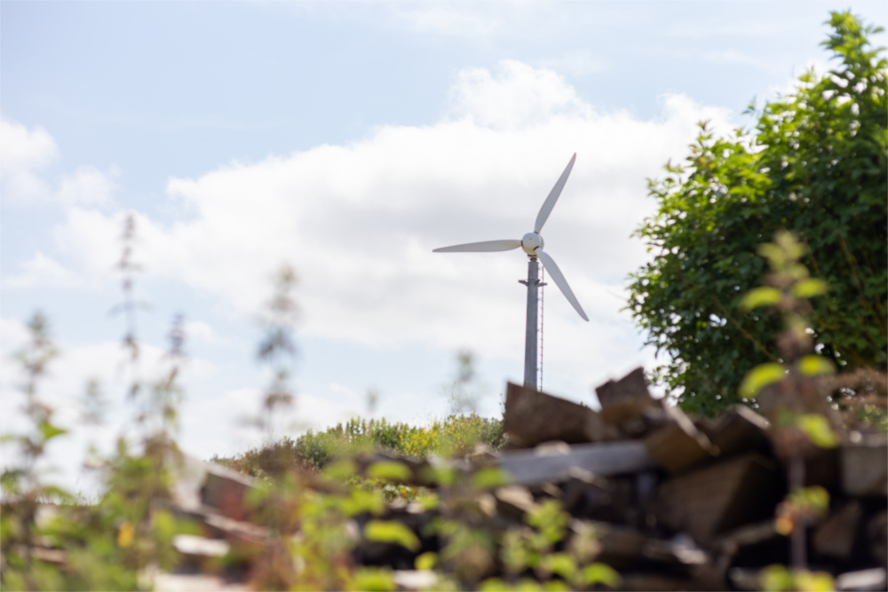 Wind Turbine Mount Pleasant Eco Park