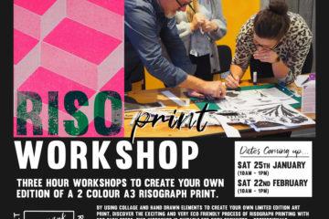 Riso Print workshop
