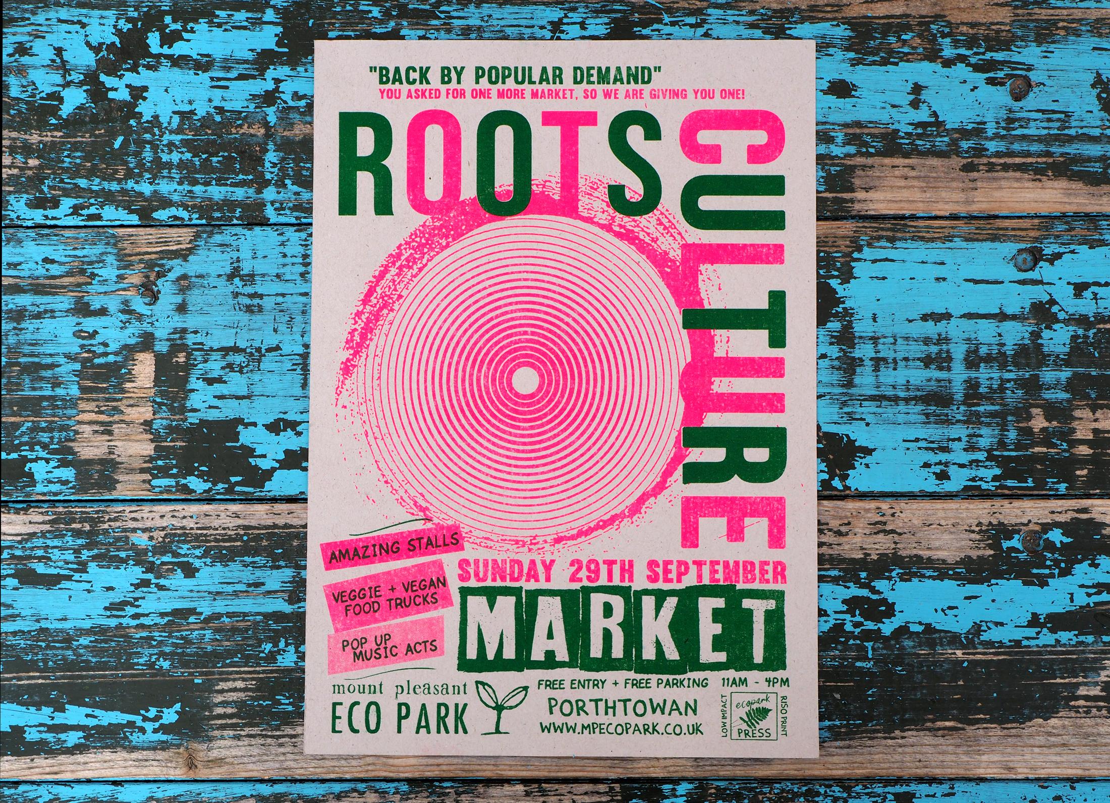 Roots Culture Market Mount Pleasant Eco Park September