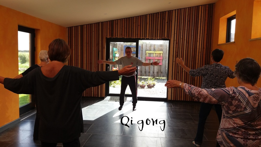 Qigong classes at Mount Pleasant Eco Park