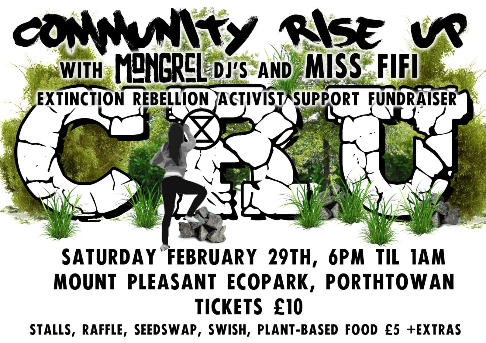 Community Rise Up gig