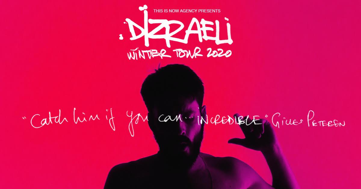 Dizraeli tour poster