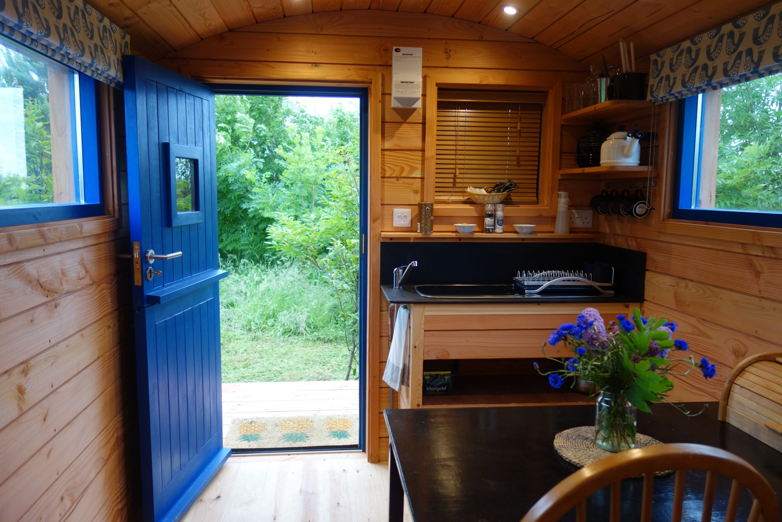 Small Woods Shepherd's Hut