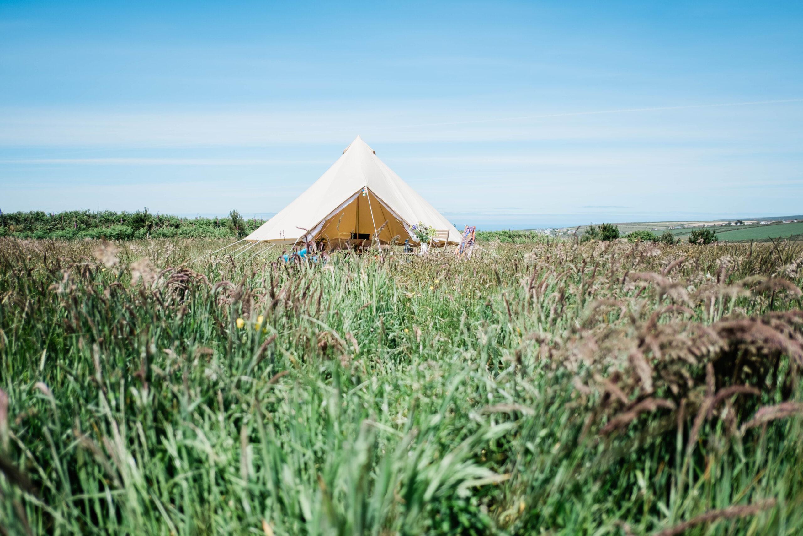 Camping Eco Park Porthtowan Cornwall