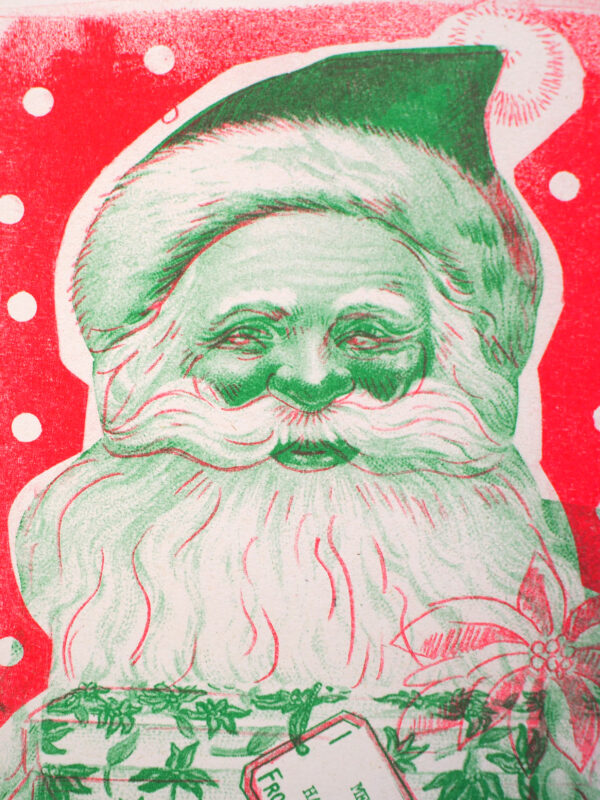riso print christmas cards eco park cornwall